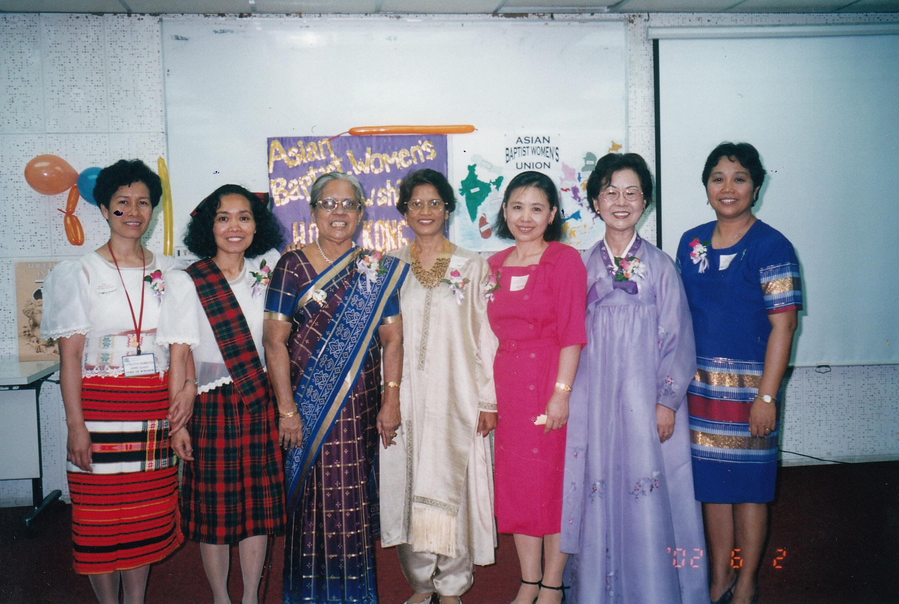 ASIAN BAPTIST WOMEN'S FELLOWSHIP, HK